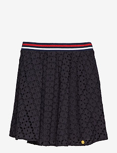 TEAGAN SCHIFFLI SKIRT - NAVY