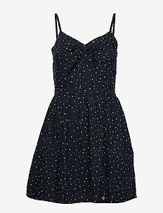 ALICE KNOT DRESS - short dresses - navy star