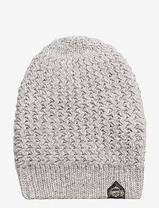 DAKOTA NEP BEANIE - kapelusze - grey marl