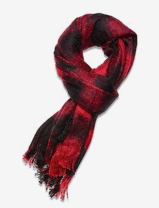 SUPER ORKNEY SCARF - huivit - red/black