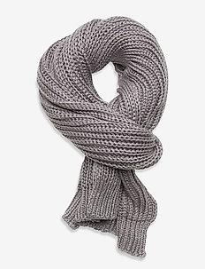 ARIES SPARKLE SCARF - scarves - grey marl