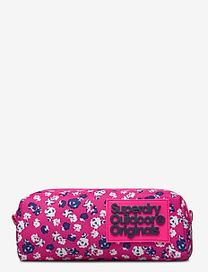 MS DITSY MONTANA PENCIL CASE - pencil cases - fluro pink/white
