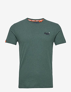 OL VINTAGE EMBROIDERY TEE - basic t-shirts - buck green marl