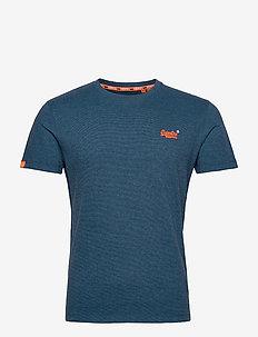 OL VINTAGE EMBROIDERY TEE - basic t-shirts - glacier blue feeder