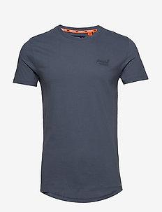 ORANGE LABEL LITE TEE - basis-t-skjorter - dry slate blue