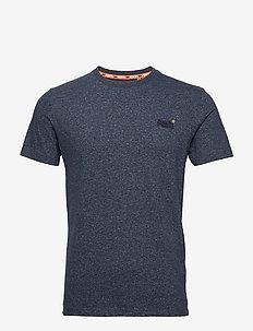 OL VINTAGE EMB CREW - basic t-shirts - abyss navy feeder