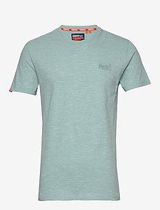 OL VINTAGE EMB CREW - basis-t-skjorter - fresh mint space dye