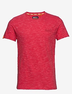 OL VINTAGE EMB CREW - perus t-paidat - maldive pink space dye