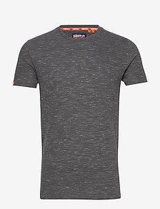 OL VINTAGE EMB CREW - t-shirts basiques - slate space dye