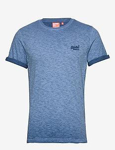 OL LOW ROLLER TEE - basic t-shirts - true blue