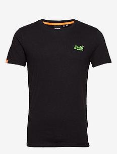 OL NEON LITE TEE - basis-t-skjorter - black
