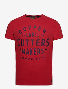 COPPER LABEL TEE - short-sleeved t-shirts - chilli pepper