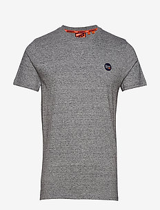 COLLECTIVE TEE - basic t-shirts - collective dark grey grit