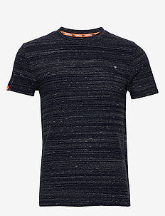 Ol Vintage Embroidery Tee - t-shirts basiques - midnight navy space dye