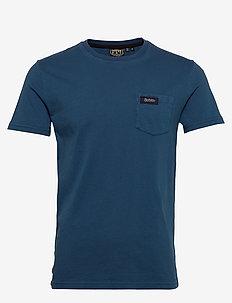 Dry Goods Pocket Tee - basic t-shirts - ensign blue