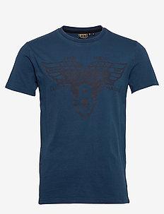 Dry Goods Tee - t-skjorter med trykk - ensign blue