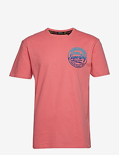 TICKET TYPE OVERSIZED FIT TEE - SKATE PINK
