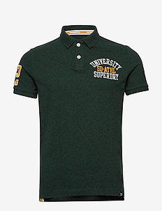 CLASSIC SUPERSTATE S/S POLO - lyhythihaiset - pine grit