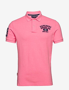 Classic Superstate S/S Polo - kurzärmelig - bright blast pink