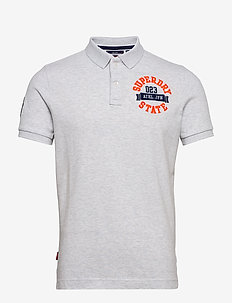 CLASSIC SUPERSTATE S/S POLO - short-sleeved polos - ice marl