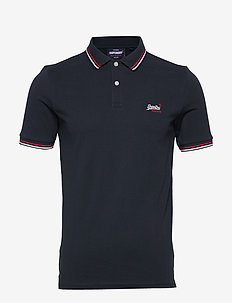 CLASSIC MICRO LITE TIPPED S/S POLO - ECLIPSE NAVY