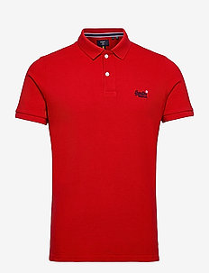 CLASSIC PIQUE POLO - kortærmede - rouge red