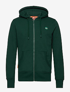 COLLECTIVE ZIP HOOD - PINE