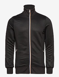 ORANGE LABEL TRI TRACK TOP - track jackets - black