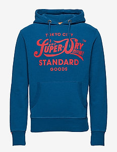 HERITAGE CLASSIC HOOD - QUAYSIDE BLUE