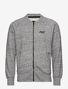 ORANGE LABEL URBAN BOMBER - sweatshirts - flint grey grit