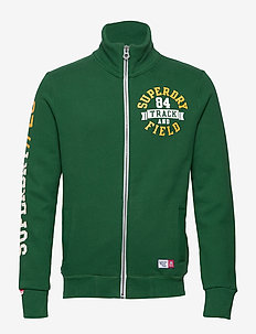 TRACKSTER TRACK TOP - TRACK GREEN