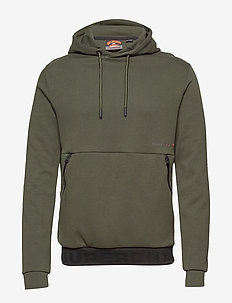 URBAN TECH OVERHEAD HOOD - basic sweatshirts - surplus goods olive