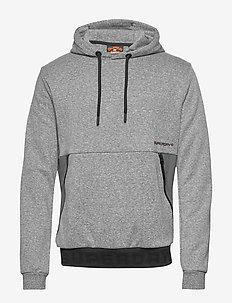 URBAN TECH OVERHEAD HOOD - perus-college-paitoja - urban grey grit