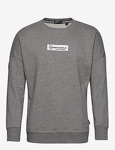 SURPLUS GOODS CREW UB - sweatshirts - speckle grit