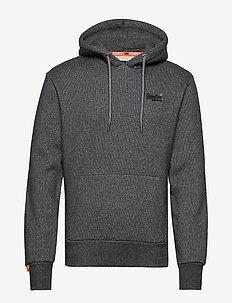 ORANGE LABEL CLASSIC HOOD BR - perus-college-paitoja - mid grey texture