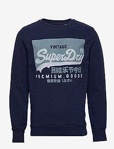 VL O CREW UB - sweatshirts - rich navy