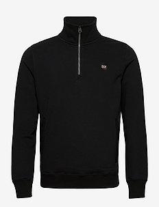 Collective Half Zip Track - half zip-trøjer - black