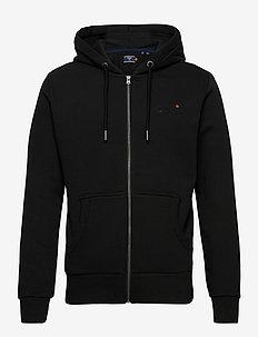 OL CLASSIC ZIPHOOD NS - hoodies - black