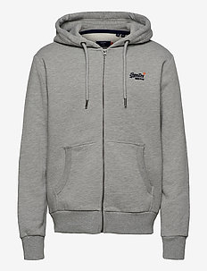 Ol Classic Ziphood Ns - sweats à capuche - noos grey marl