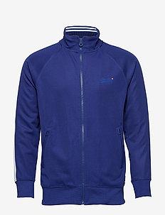 LINEMAN SLIM FIT TRACK TOP - track jackets - track cobalt