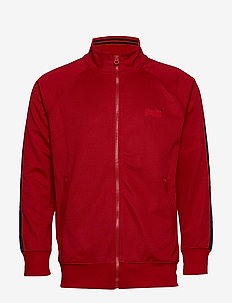LINEMAN SLIM FIT TRACK TOP - TRACK RED