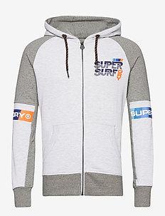 SUPER SURF LITE ZIPHOOD - sweats à capuche - phoenix grey grit