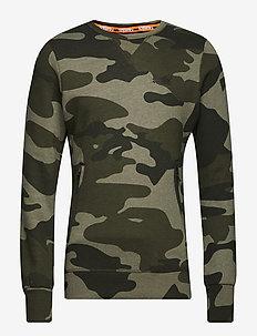 ORANGE LABEL URBAN CREW - sweatshirts - urban camo