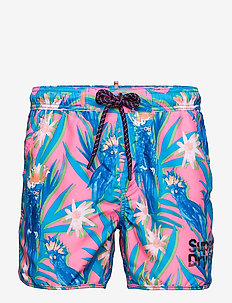 ECHO RACER SWIM SHORT - badehosen - multi cockatoo aop