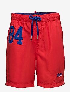 WATERPOLO SWIM SHORT - board shorts - yacht club red