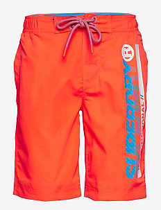 SUPERDRY BOARDSHORT - boardshorts - havana orange