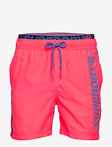 STATE VOLLEY SWIM SHORT - badehosen - cuba coral