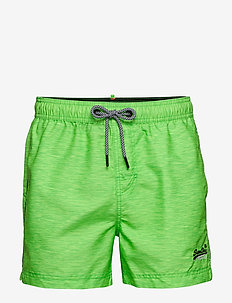 HYPER BEACH VOLLEY SWIM SHORT - shorts de bain - fluro green space dye