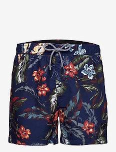 SUPER 5s BEACH VOLLEY - shorts - indo leaf navy