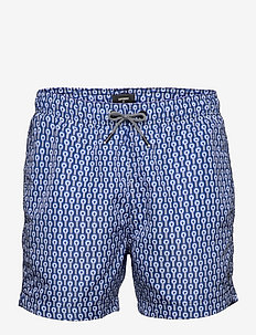 SD STUDIOS SWIM SHORT - board shorts - target print navy